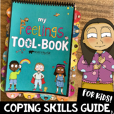 Self-Regulation Coping Skills & Social Emotional Learning Book for School & Home
