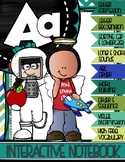 MY FIRST A to Z INTERACTIVE NOTEBOOK {Letter A}