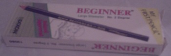 MY FIRST PENCIL
