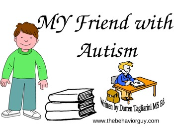 MY FRIEND WITH AUTISM POWERPOINT INCLUSION STORY