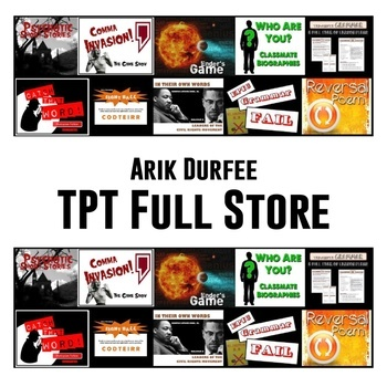 MY FULL STORE! - A bundle of every single product I have