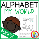 My World Alphabet Letters ABC Book for Kindergarten
