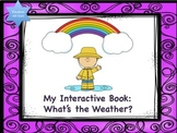 MY INTERACTIVE BOOK: How's the weather?