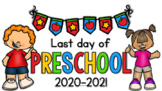 MY LAST DAY OF PRESCHOOL HAT & INTERVIEW