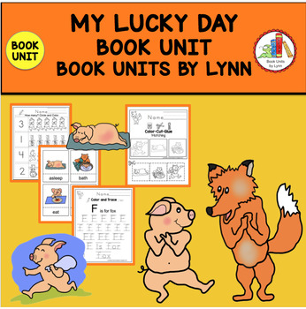 MY LUCKY DAY BOOK UNIT