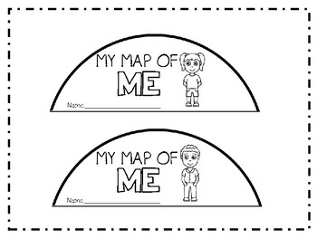 MY Map of Me!