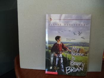 My Name is Brian (Brain)  ISBN 0-590-44922-2
