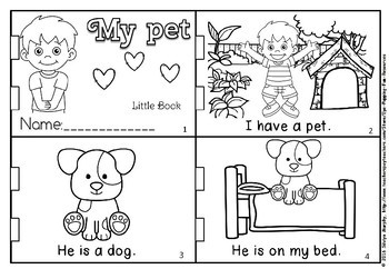 MY PET LITTLE BOOK (FLASH FREEBIE)