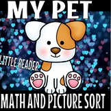 MY PET LITTLE BOOK PLUS MATH PICTURE SORTS