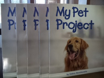 MY PET PROJECT     ISBN 0-15-323168-8  (set of 5)
