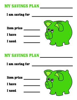 MY SAVINGS PLAN