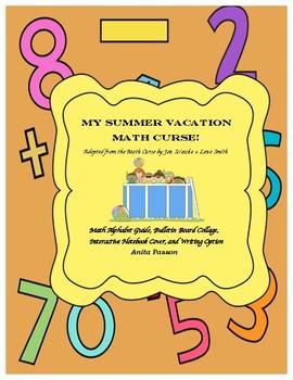 MATH CURSE- MY SUMMER VACATION MATH CURSE!