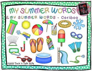 MY SUMMER WORDS & MY SUMMER WORDS Cariboo