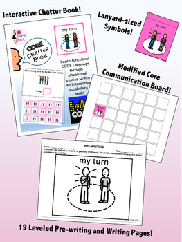 MY TURN: Complete Core Word Activity Set