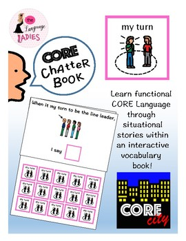 MY TURN: Interactive CORE City Chatter Book