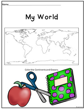 MY WORLD/GEOGRAPHY FOR KIDS