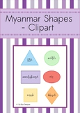 MYANMAR SHAPES- CLIPART