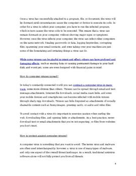 MYP 5 biology transfer task