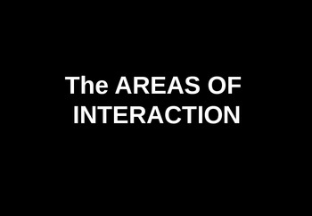 MYP - Areas of Interaction - Classroom Signs