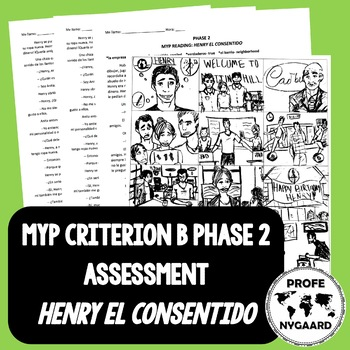 """MYP CRITERION B ASSESSMENT PHASE TWO- """"HENRY EL CONSENTIDO"""""""