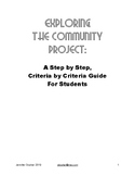 MYP Community Project Guide