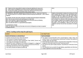 MYP English Language Acquisition l Phase 5 l Unit of Work