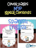 MYP Global contexts cover pages