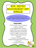 MYP:  Metric Measurement Unit Bundle!