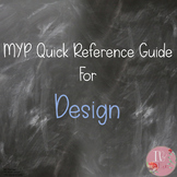 MYP Quick Reference Guide for Design