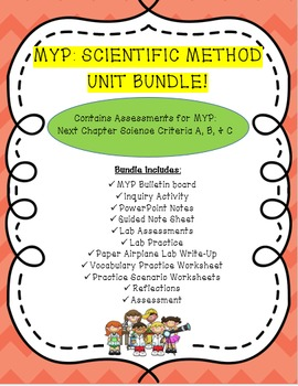 MYP Scientific Method Unit Bundle