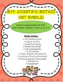MYP Scientific Method Unit Bundle