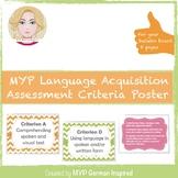 IB MYP language acquisition assessment criteria (Internati