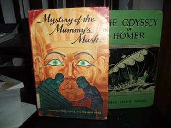 MYSTERY OF  MUMMY'S MASK,  THE ODYSSEY OF HOMER (SET OF 2)