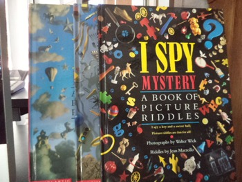 I SPY MYSTERY EXTREME   FANTASY   RIDDLES    (SET OF 4)