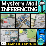 MYSTERY MAIL inferencing activities-inferencing lesson-inf