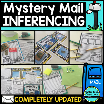 Inference Activities ~ MYSTERY MAIL ~ making inferences ~ inferring