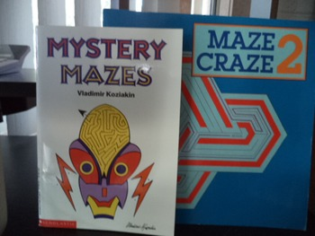 MYSTERY MAZES  MAZE CRAZE 2       (set of 2)