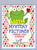 MYSTERY PICTURES COMMON CORE NUMBERS 1-120 GRADE ONE