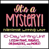 Mystery Writing Unit {Narrative Writing}