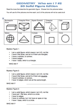 MYSTERY numbers & shapes math PUZZLES -GEOMETRY, PLACE VALUE, DECIMALS