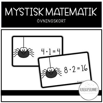 MYSTISK MATEMATIK - Övningskort