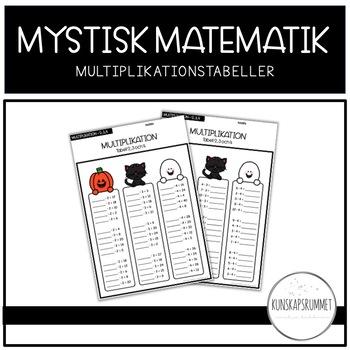MYSTISK MATEMATIK - Multiplikationstabeller