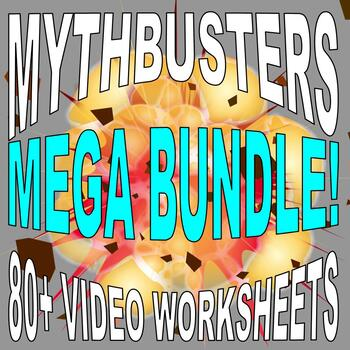 mythbusters mega bundle 50 video worksheets more free updates - Mythbusters Christmas Tree