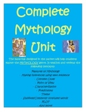MYTHOLOGY Reading & Writing Unit- (Demeter, Arachne, Create your own god, &more)