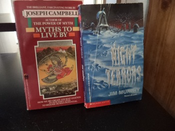 MYTHS TO LIVE BY   NIGHT TERRORS     (set of 2)