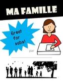 Ma Famille (Family Album Project) -La famille, adjectifs - Bien Dit 1 Chp 3