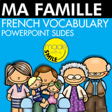 Ma Famille French Vocabulary PowerPoint Slides