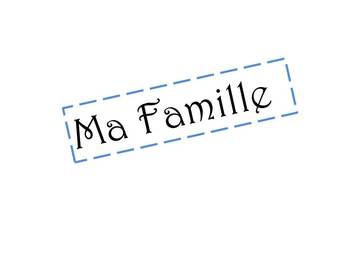 Ma Famille Powerpoint basic family members