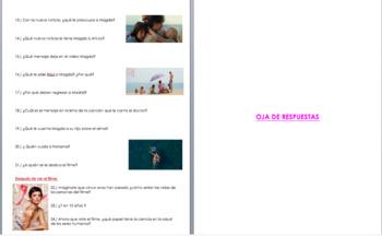 Ma Ma Movie Guide Questions | AP Spanish Ciencia y Tecnología | La salud