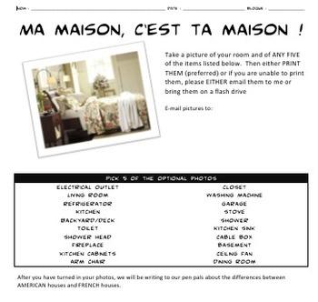 Ma Maison c'est Ta Maison: house and furniture project